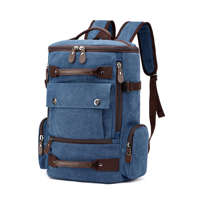 Canvas Men Vintage Backpack Bag Male Backpack  1