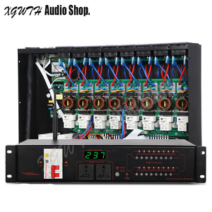 Image 1 - Pro Karaoke Audio System dźwięku DJ 16 kanałowy bezprzewodowy filtr wielofunkcyjny sekwencji mocy zasilania sterownika kontroler rozrządu