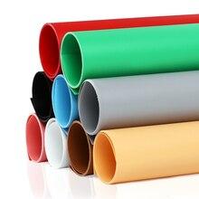 3 조각 43cm * 60cm 솔리드 컬러 매트 서리로 덥은 PVC 배경 플레이트 사진 배경 천으로 방수 안티 링클