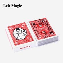 Sprite Bulmak Güverte Karikatür Cardtoon oyun kartı Yakın Up Kartı Toon Güverte Magic Trick Magician Animasyon Tahmini Hileler Sahne
