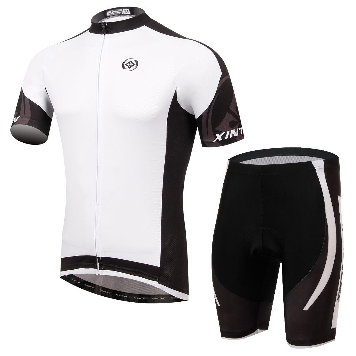 Dimon Men Women Cycling Set Short Sleeve Jersey and Shorts MTB Suits Roupa Ciclismo 100 Polyester