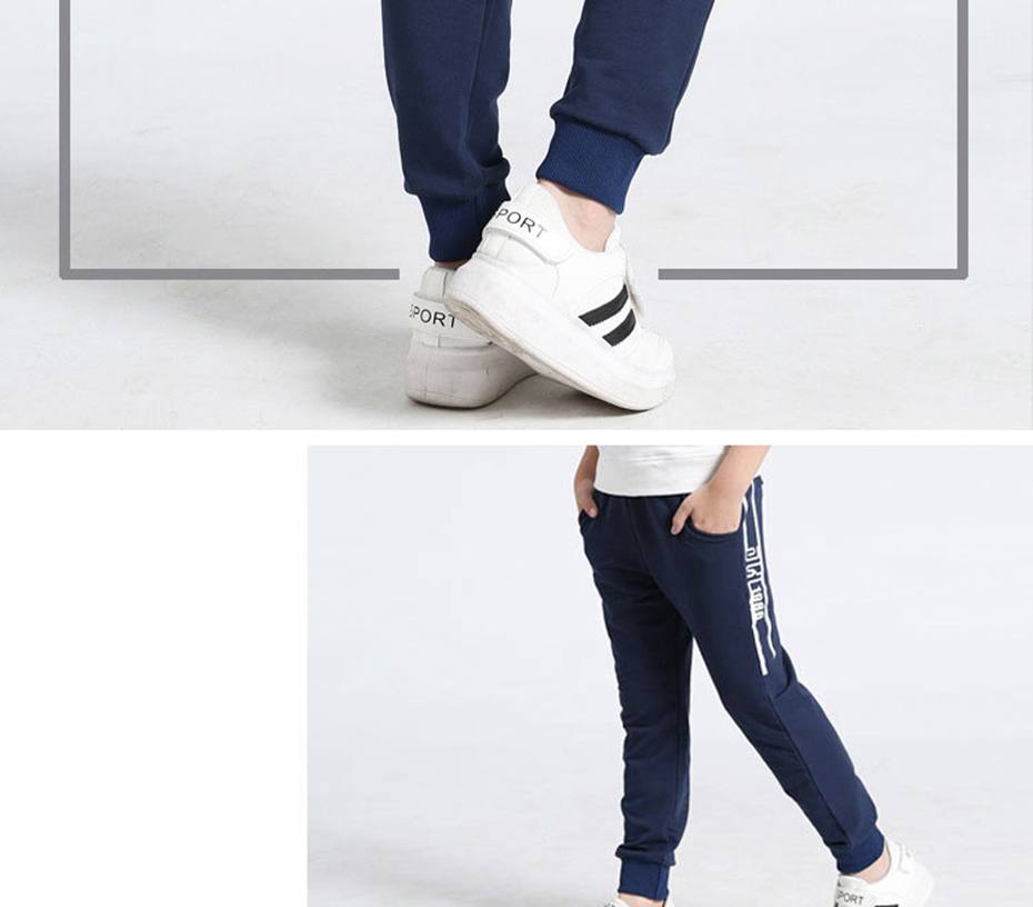 Big Boy Pants Spring Teenage Boy Sports Pants 2018 Spring Toddler Casual Kids Trousers For Boys Clothes Age 10 12 14 16 Year
