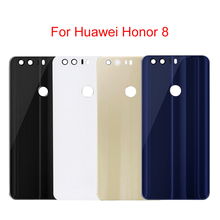 For Huawei Honor 8 5.2 Back Housing Battery Cover Case For Honor8 Honor 8 Battery Glass Cover Door Replacement Parts back glass for huawei honor 8 glass back cover housing battery cover case for honor8 back glass replacement parts