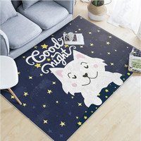 The unicorn rugs and carpets for home living room baby crawl pad FOX area rug bedroom lion cartoon baby carpet bed tapete