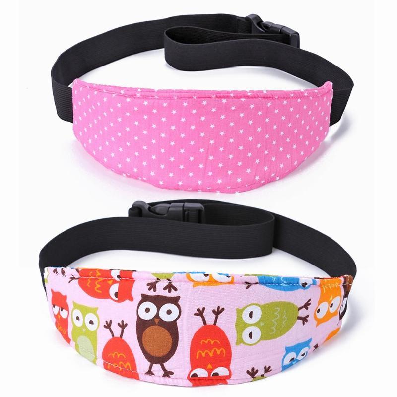 Baby Car Seat Head Belt Sleep Positioner Infants And Toddler Head Support Stroller Accessories Kids Adjustable Fastening Belts