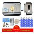 20 шт. бирки  система контроля доступа к дверям и воротам DC12V  электронный интегрированный RFID замок для дверных дисков с 1000 пользователей  RFID с...