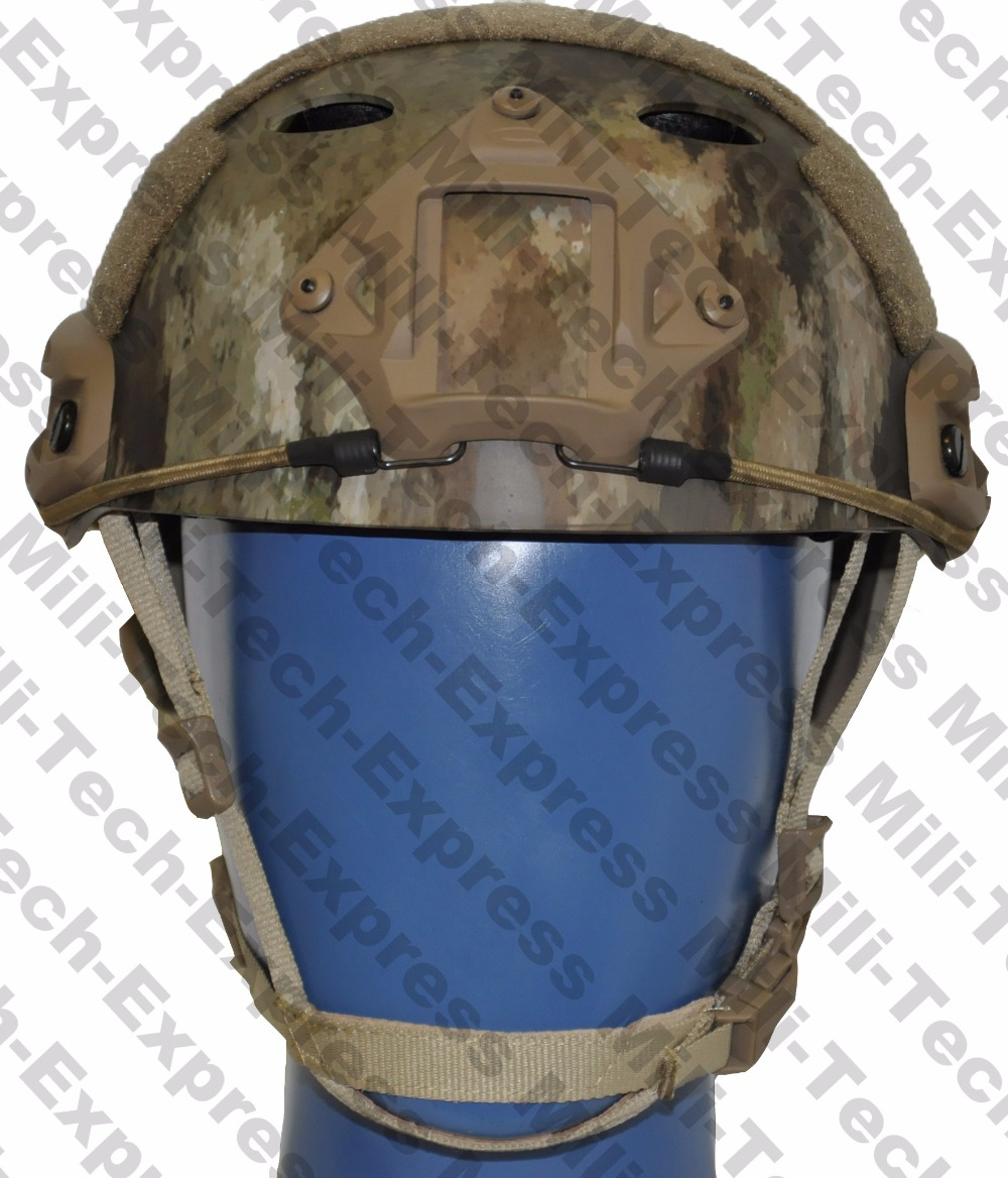FAST ATAU PJ Carbon Style Vented Airsoft Tactical Helmet / Ops Core Style High Cut Training Helmet / FAST Ballistic Style Helmet fast aor1 pj carbon style vented airsoft tactical helmet ops core style high cut training helmet fast ballistic style helmet