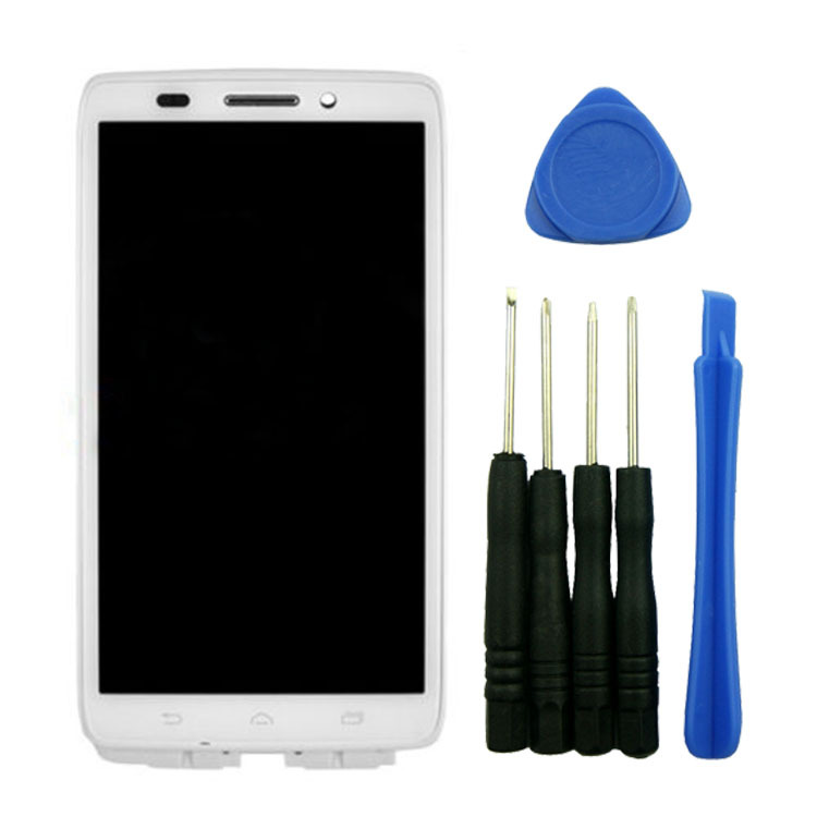 White LCD+Touch Screen Digitizer Assembly+Frame Replacement With Tools High Quality For Motorola Droid Ultra XT1080 MAXX 1080M