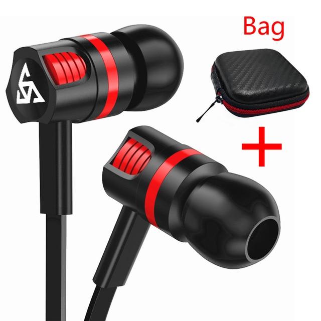 Musttrue profesjonalne słuchawki Super basowy zestaw słuchawkowy z mikrofonem słuchawki stereo do telefonu komórkowego Samsung Xiaomi fone de ouvido
