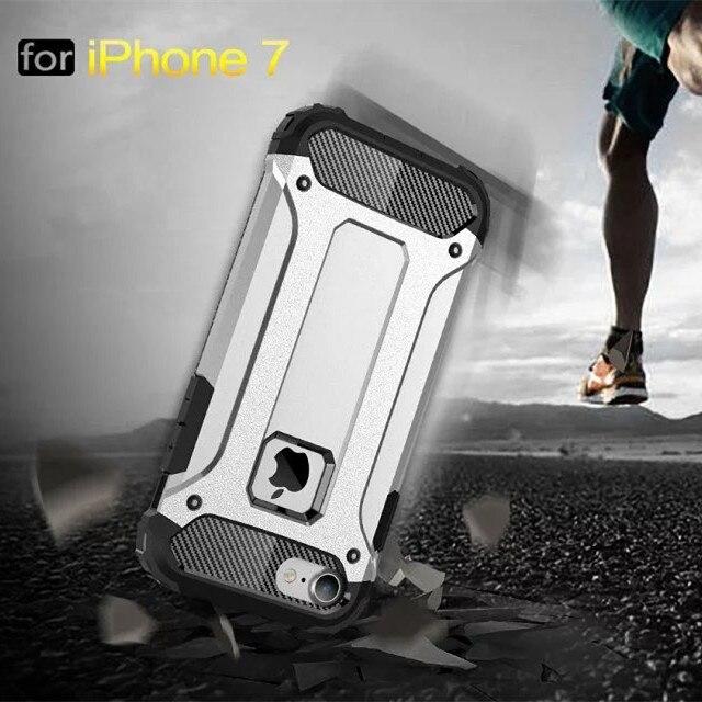 Alta calidad híbrido caja de la armadura resistente para iphone 7 iphone7 más de
