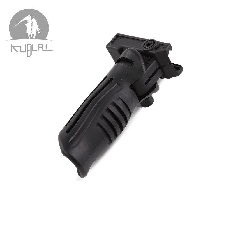Outdoor Sports Game Model Lol Nylon Tactical Grip M4 Front Grip Duckbill Ak Grip Folding Grip Mp7 Water Bullet Gun Accessories