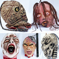 Halloween Haunted House Trick Funny Latex Toy Bar KTV Decorations Hanging Horror Ghost Blood Head