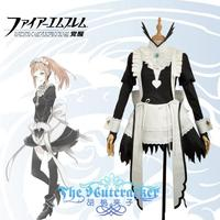 [STOCK] 2018 Anime Fire Emblem If Felicia Maid Dress Fancy Lovely Outfit Cosplay Costume For Women Halloween Free Shipping New.