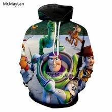 De dibujos animados de juguete lindo Woody Buzz Lightyear 3D imprimir  chaqueta de los hombres  11bf010bf35