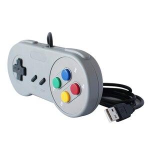 Image 5 - USB 2.0 Máy Tính Chơi Game Có Dây Nút Điều Khiển Game Mobile Joystick Joypad Bộ Điều Khiển Trò Chơi SNES Cho Game Cho Máy Tính Windows Máy Tính Mac Điều Khiển