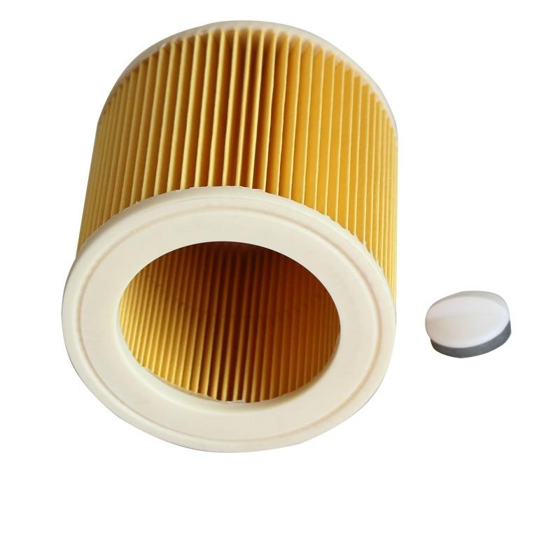 Reemplazo para Karcher Partes de aspirador Hoover filtro de cartucho seco húmedo para a1000 a2200 a3500 A223 wd2.200 wd3.500