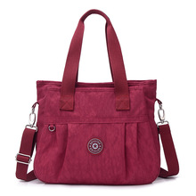 Womens Washing nylon cloth bag casual fashion single shoulder slant handhelds new trend