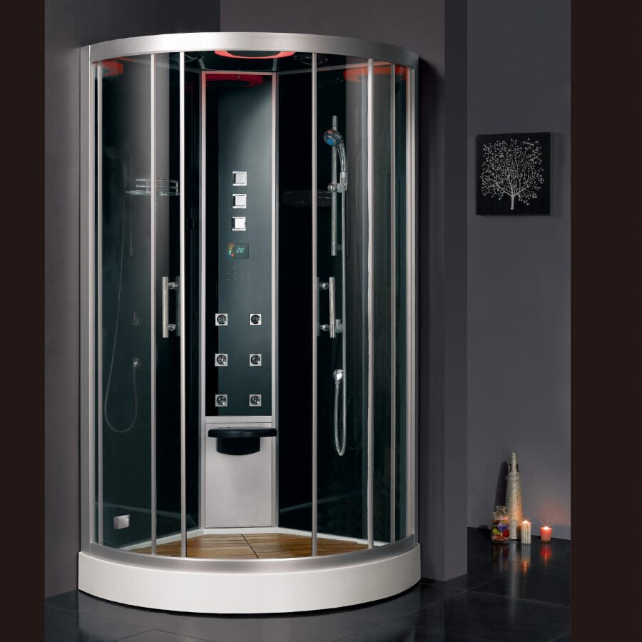milano siena steam black shower index