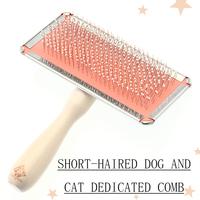 Cleaning Brush Pet Open Dog Grooming Combs Soft Long Hair Removal Comb Cepillo Perros Sort Out Brosse Cheveux Pet Supply 70Z1387