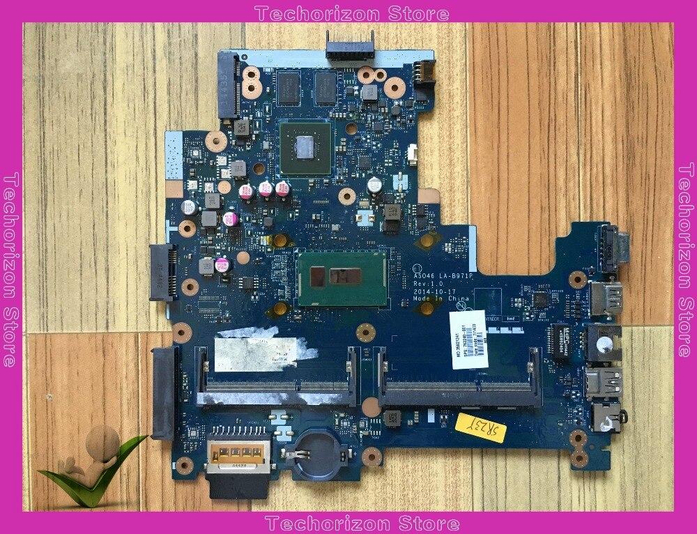 762240-501 762240-001 для HP 240 G3 14-R материнская плата для ноутбука LA-B971P тестирование работы
