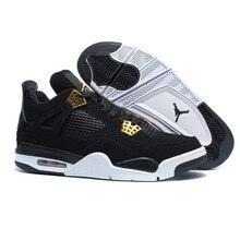 72a55a5cc6074d AIR US JORDAN 4 Man Basketball Shoes Motorsport Raptor Black Red Toro oreo  Athletic Sport Sneakers