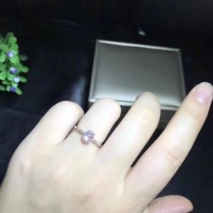 Image 5 - Natuurlijke blauwe maansteen ring, eenvoudige stijl, winkel promotie, 925 zilver, gratis verzending, populaire stijl