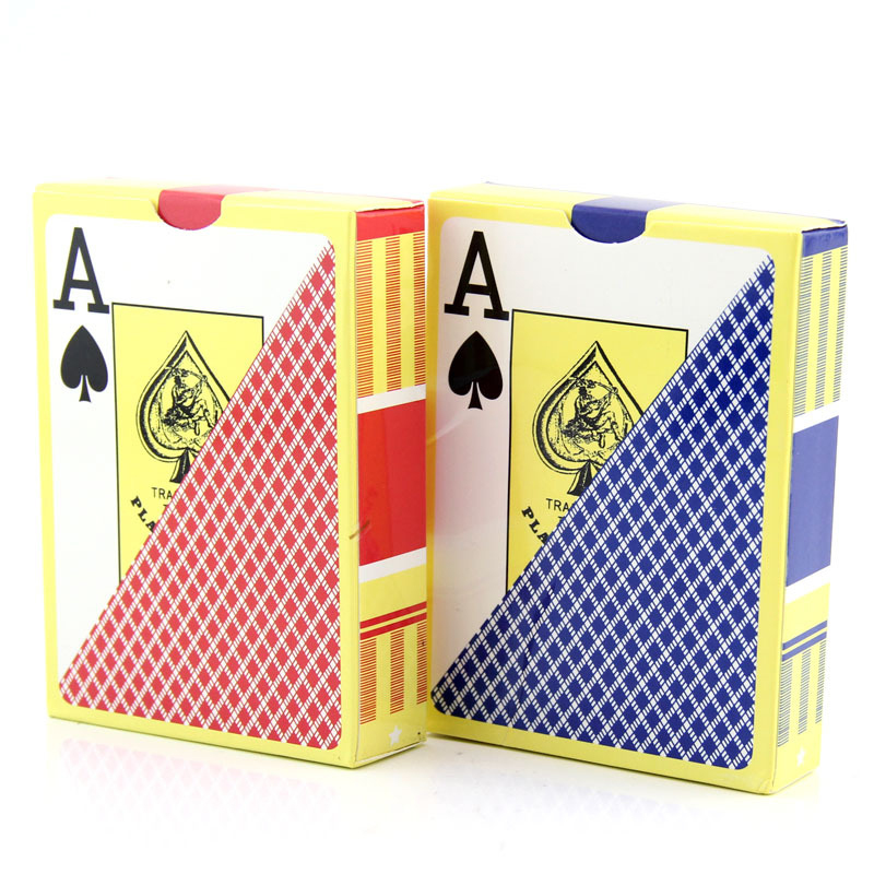 Waterproof Durable PVC Plastic Playing Cards Novelty Poker Card Pokerstar Board Game Texas Play Family Entertainment hooray let s play b card sets flashcards story cards