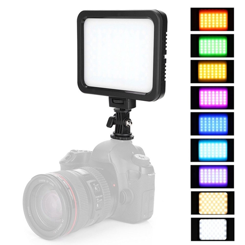 ZIFON ZF-RGB360 Multicolor And 3200K-5700K LED Video Light Lamp Photo Studio Lighting for Camera OYZIFON ZF-RGB360 Multicolor And 3200K-5700K LED Video Light Lamp Photo Studio Lighting for Camera OY