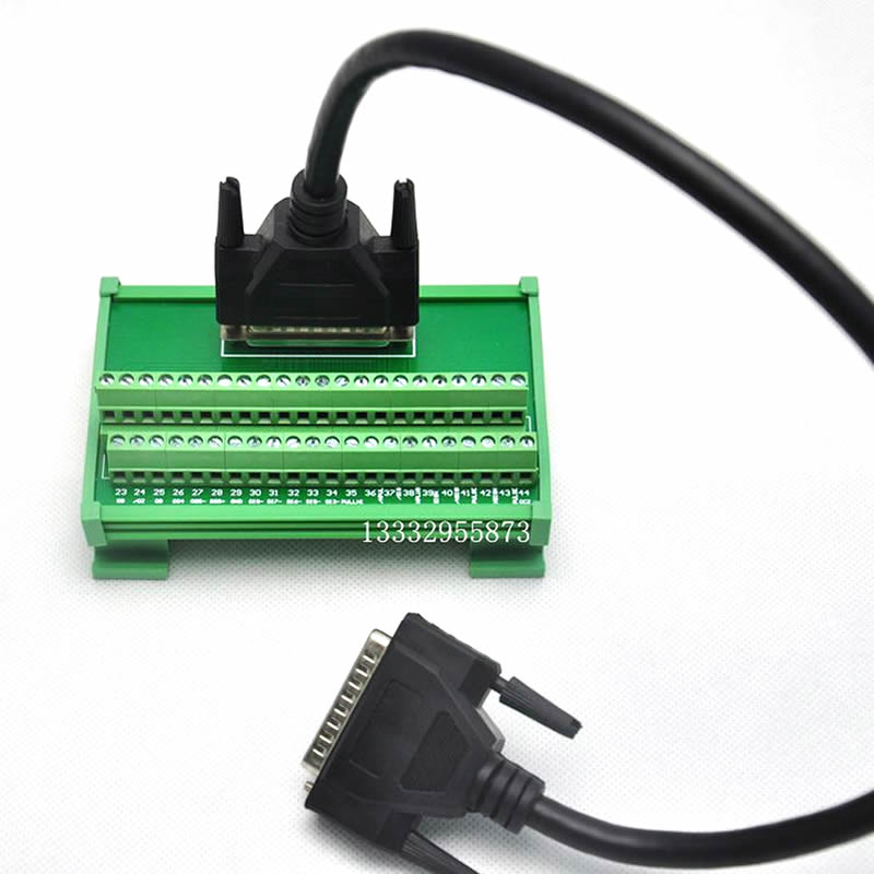 ASD MDDS44 Terminal station 44pin with 1m CN1 cable for Delta ASDA B2 servo motor drive