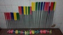12 יחידות פיר פלדה באיכות גבוהה צבעוני ילדים ראש גומי אחיזה להתבטל מיני גולף