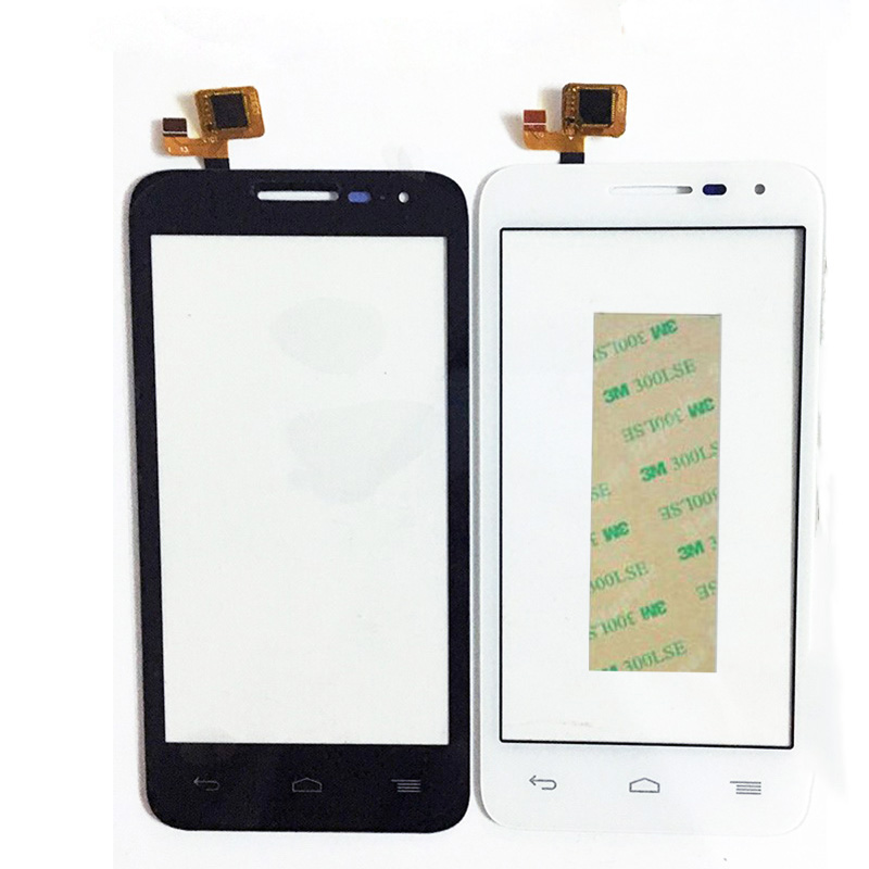 Nouveau Panneau Avant Écran Tactile Pour Alcatel One Touch POP D5 5038 5038D 5038E 5038X OT5038 Écran Tactile Digitizer Verre + 3 M Autocollant