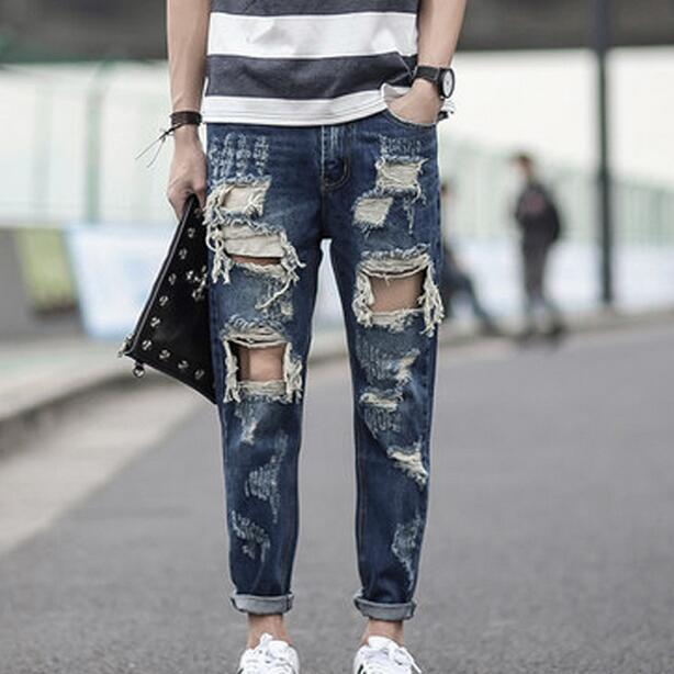 Popular Destructed Jeans-Buy Cheap Destructed Jeans lots from ...