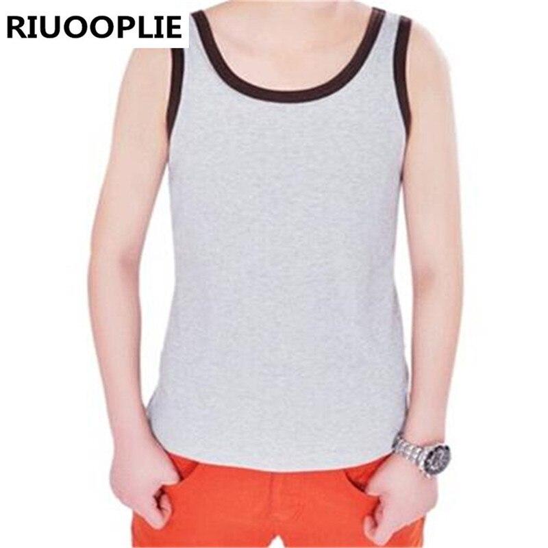 RIUOOPLIE coton fil Les lesbiennes maillot de corps sein liant poitrine gilet hauts grande taille XS-2XL (SM-0004)