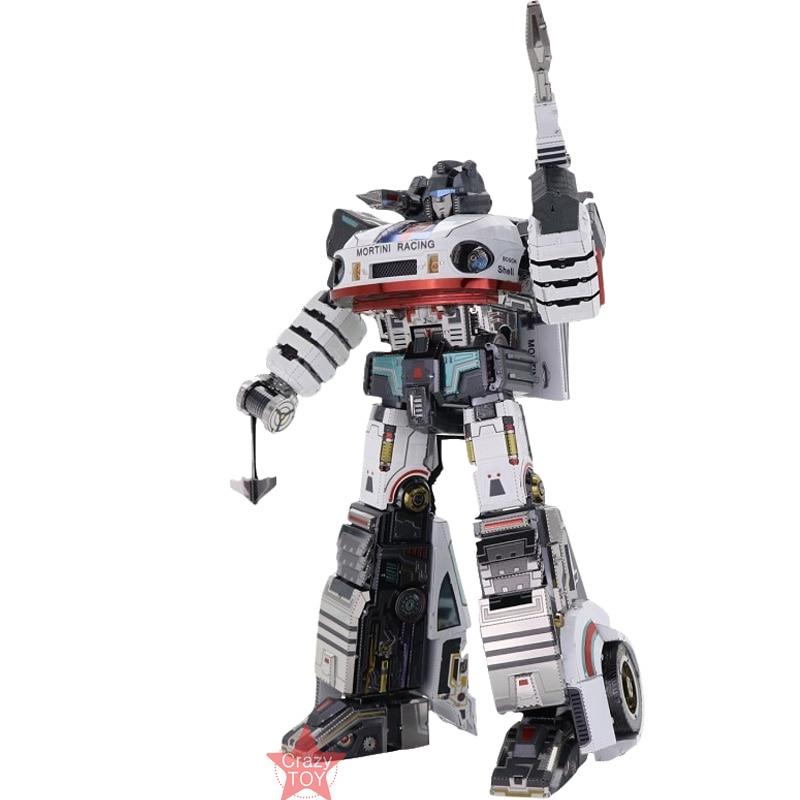 MU Jazz G1 wymienne części TR 5 ostatni rycerz DIY 3D puzzle metalowe montaż modelu zestawy laserowo wycinane zabawki puzzle YM L058 w Zestawy modelarskie od Zabawki i hobby na  Grupa 3