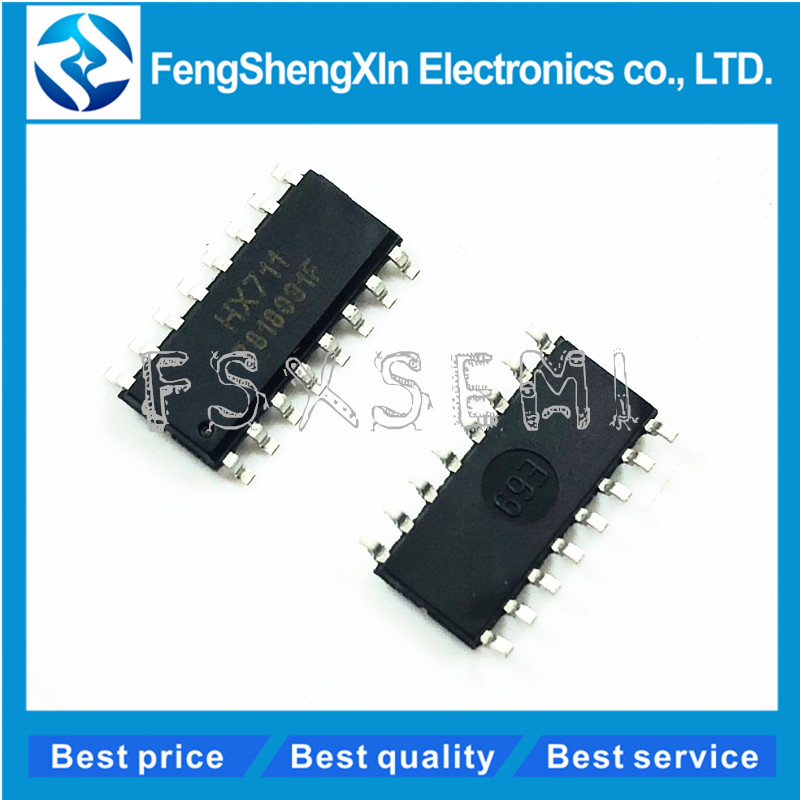 100pcs lot HX711 SOP 16 weighing sensor IC