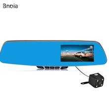 "4.3 ""Dash Cam Cámara del coche Dvr de Doble Lente de Espejo Azul Espejo Retrovisor DVR FHD 1080 P cámara del coche dvr Grabador de Vídeo Digital Auto C030Z"