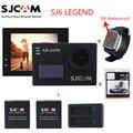 """Original SJCAM SJ6 LENDA 4 K 2.0 """"Touch Screen Câmera de Ação de Esportes Sj DVR + 2 Bateria + Dual Relógio carregador + Remoto + Microfone"""