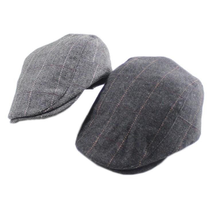 2bf3a20ec15 Men women Berets Herringbone Gatsby Tweed Cap Male Beret Peaky Blinders Hat  Spring Women Flat Beret Hats-in Berets from Apparel Accessories on ...