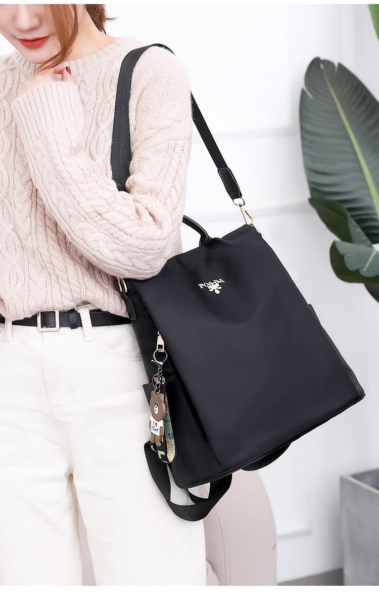 HTB1Nrb4e8Kw3KVjSZTEq6AuRpXam Fashion backpack women shoulder bag large capacity women backpack school bag for teenage girls light ladies travel backpack