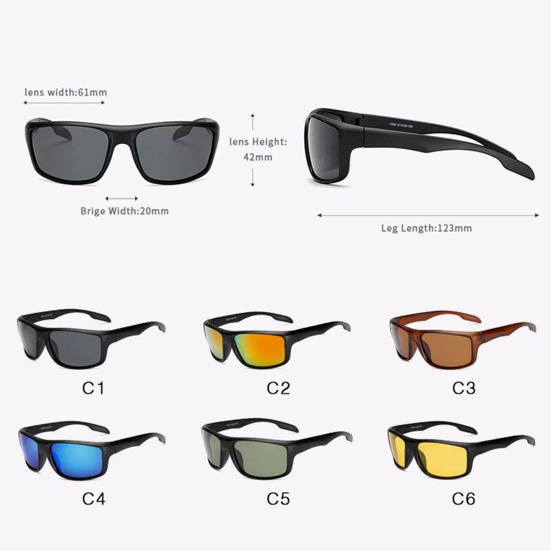 AFOFOO los hombres Gafas de sol polarizadas de conducción de los hombres  Gafas de sol Gafas 4edc842671ca