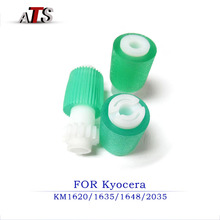 2Sets/lot Paper Pickup Roller For Kyocera KM 1620 1635 2035 2550 1648 2035 2550 2050 Compatible KM620 KM1635 KM2035 KM2550 wholesale high quality original color copier opc drum compatible for kyocera km1635 2035 2550 2540 2560 3040 3060