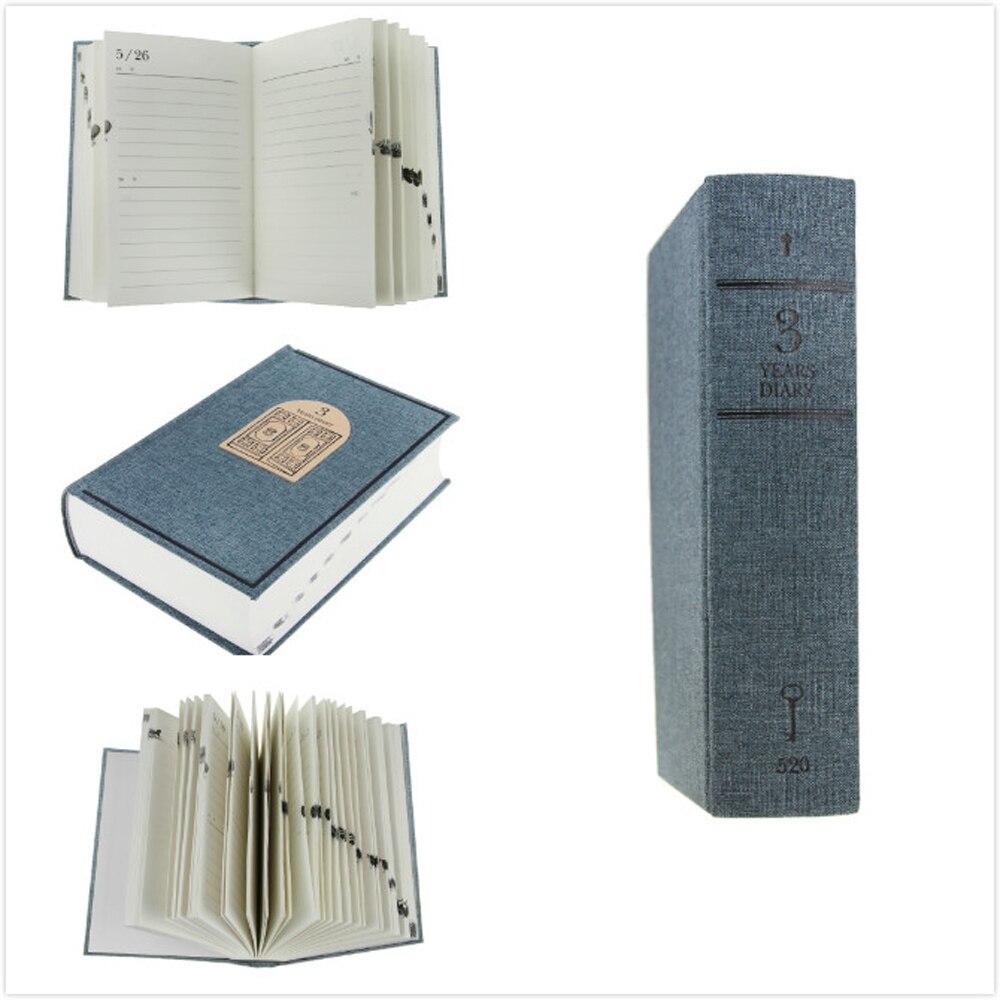 3 Años de Escritura Diario Notebook Forrado Bloc de Notas ...