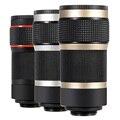 8x zoom universal clip de la lente de teléfono móvil para huawei cámara teleobjetivo telescopio lente para xiaomi redmi 2 3 s 4 nota 3 mi4 mi5 MI6