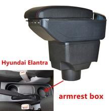 Для hyundai Elantra XD подлокотник коробка центральный магазин содержание коробка для хранения с подстаканником пепельница USB интерфейс