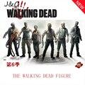 The Walking Dead Фигурку Косплей Covernor Michonne Рик Граймс Игрушки 13 см Пвх Juguetes Модель Здания Brinquedos Детей игрушки