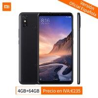 Global Version Xiaomi Mi Max 3 4GB 64GB Smartphone Snapdragon 636 Octa Core 6.9 1080P Full Screen 5500mAh QC 3.0 AI Dual Camera