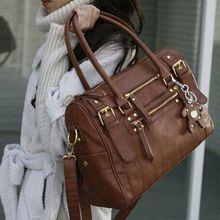 2015 Nouveau Design!! Mode femmes sac à main vintage de ceinture ours gland femmes épaule sac messenger sacs casual sac fourre-tout Q56