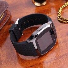 Mode Smartwatch Smart Android Uhren Touchscreen Bluetooth Armbanduhr Gesundheit tracker Gummiband Stoppuhr für Telefon Männer