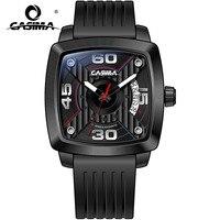 Автоматические механические Для мужчин s часы Элитный бренд часы Для мужчин модные Бизнес классические черные часы Водонепроницаемый 100 М ч