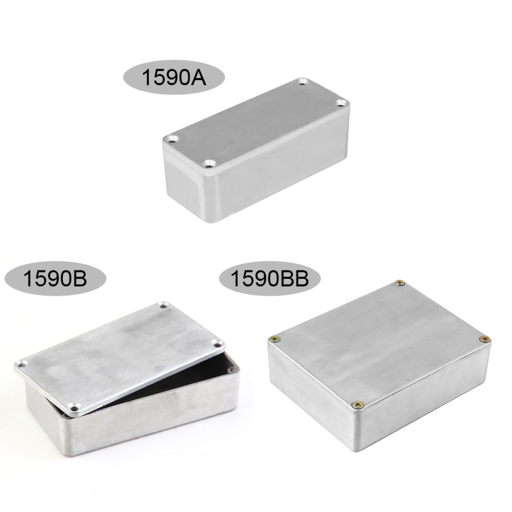 Stomp Box Enclosure for Guitar Pedals made in England by Swift free 9VDC Jack